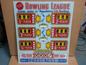 1957 Chicago Coin Bowling League